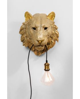 Wall Lamp Tiger Head (Excluding Bulb And Socket)