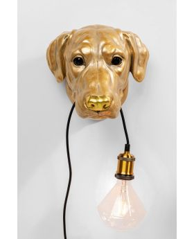 Wall Lamp Dog Head
