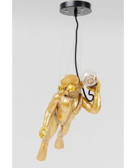 Pendant Lamp Diver Monkey (Excluding Bulb And Socket)