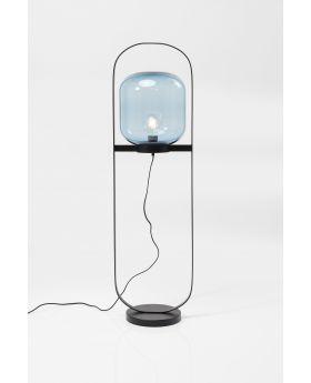 FLOOR LAMP JUPITER BLUE BLACK