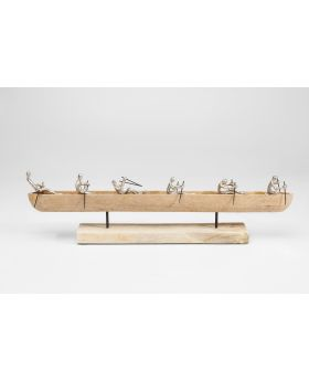 DECO OBJECT ROWBOAT