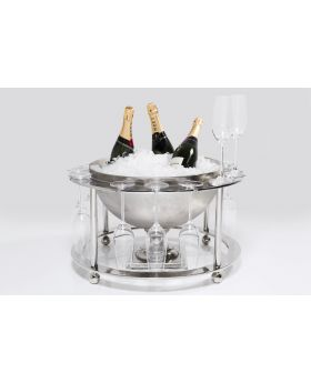WINE COOLER CHAMPAGNE TIME ( 2-TLG.)
