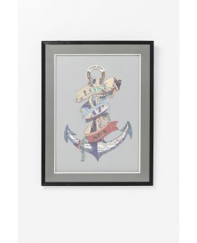 GALLERY ART ANCHOR 80X60CM