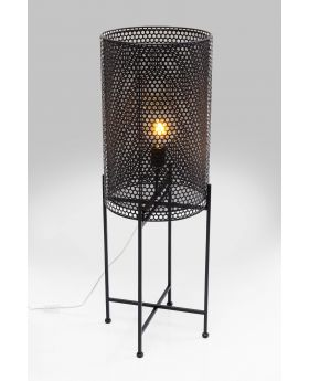 FLOOR LAMP CUT 96CM,BLACK  (EXCLUDING BULB)