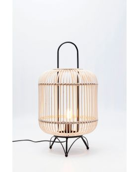 TABLE LAMP BAMBOO 68CM,  (EXCLUDING BULB)