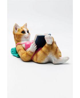 Money Box Holiday Cat