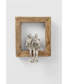 DECO OBJECT FRAME LOVING COUPLE