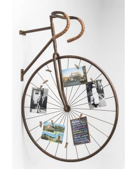 WALL DECORATION MEMO HOLDER BIKECOPPER