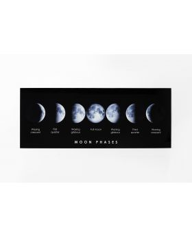 PICTURE GLASS MOND PHASE 70X180CM