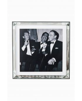 PICTURE MIRROR FRAME RAT PACK 60X60CM,