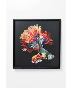 PICTUREFRAME ART BETTA FISH COLORE RIGHT