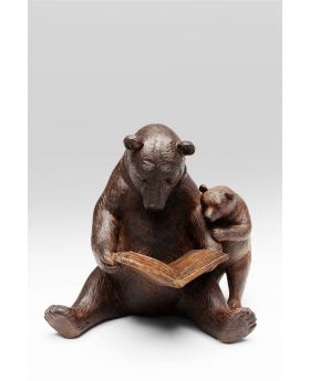 DECO OBJECT READING BEARS