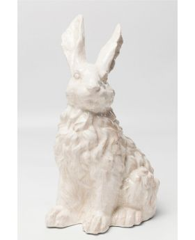 Deco Object Rabbit White 47Cm
