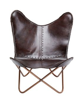 Armchair Butterfly Brown