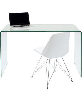 Clear Club Office Desk 125X60Transparent