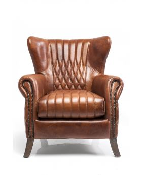 Country Side Arm Chair,Brown Ltr