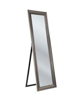 Standing Mirror Frame Silver 180X55Cm