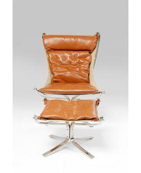 Chair + Stool Washington Brown