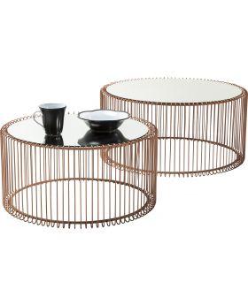 Coffee Table Wire Copper (2/Set)