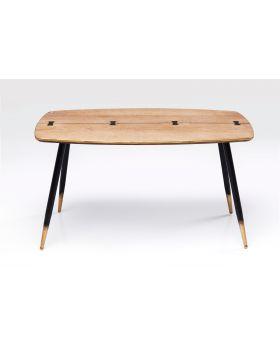 Coffee Table Art Deco 110X60Cm,Brown