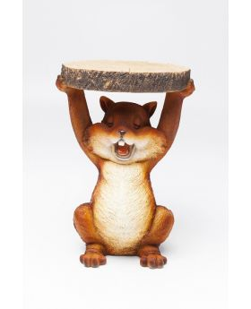 SIDE TABLE ANIMAL MINI SQUIRREL O-25CM