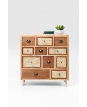 Dresser Samos 11 Drw 90Cm,Brown