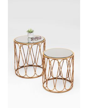 SIDE TABLE BAMBOO LOOP (2/SET)