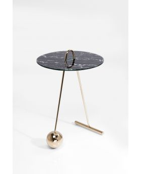 SIDE TABLE TOUCH DUO DIA46CM,BLACK