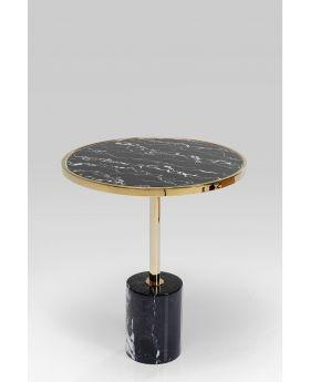 Side Table San Remo Base Black Dia46Cm