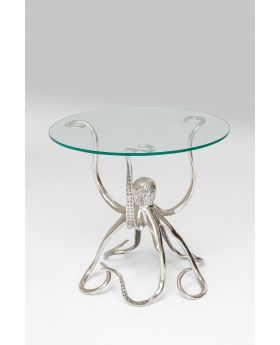 Side Table Octopus,Silvery