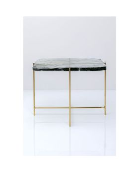 Coffee Table Ice Double Glass63X46Cm