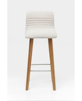BAR STOOL LARA ECRU - DARK
