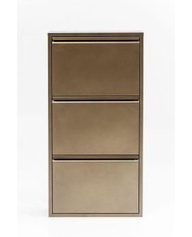 Caruso Shoe Container Bronze 3