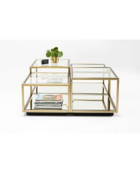 Coffee Table Luigi (4/Set) Golden