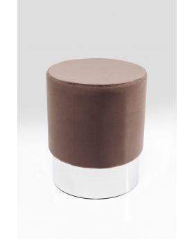 STOOL CHERRY  SILVER O/35CMBROWN