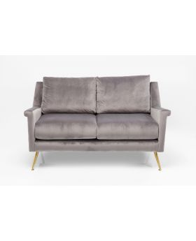 Sofa San Diego 2-Seater Grey 145Cm