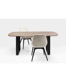 DINING TABLE HAPPY STAY 180X90CM WALNUT