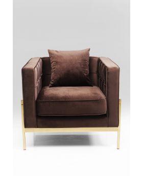 Arm Chair Loft Brown