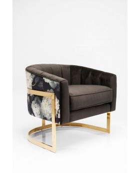 ARMCHAIR BOLD CLUB DARK GREY