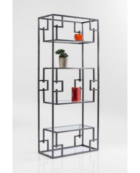SHELF SHAPES SILVER 85CM