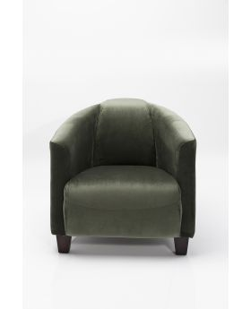 ARM CHAIR CIGAR LOUNGE GREEN