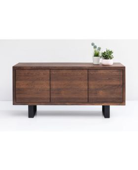 SIDEBOARD HAPPY STAY 180X90CM WALNUT