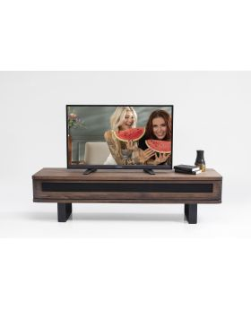 TV UNIT HAPPY STAY WALNUT
