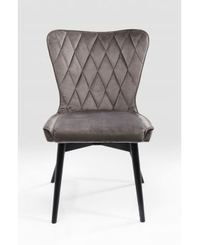 CHAIR MARSHALL VELVET GREY