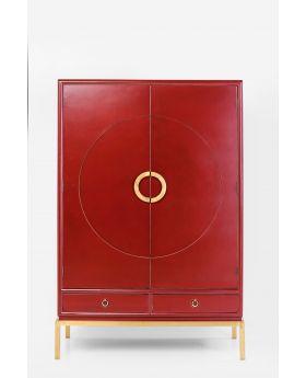 Wardrobe Disk Red,