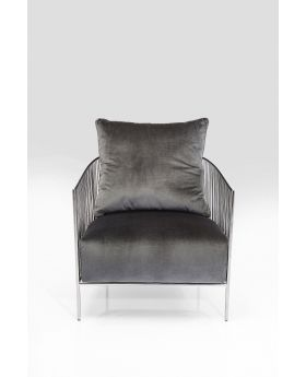 ARM CHAIR SORENTO GREY,FAB