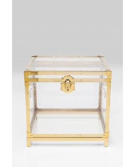 SIDE TABLE TRUNK STORAGE GALA,GOLDEN