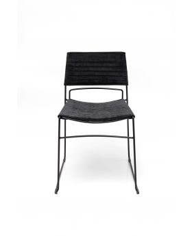 Dining Chair Hugo Black Black