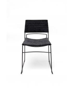 Dining Chair Hugo Black Black