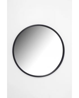 MIRROR CELEBRATION MATT BLACK DIA80CM